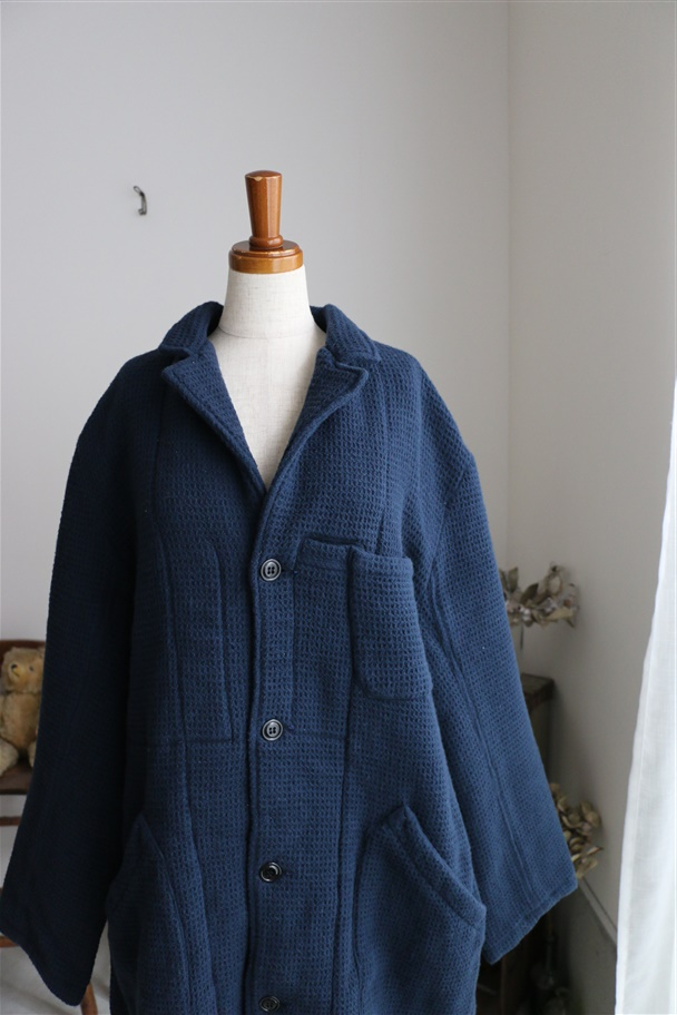 AU024 au GARCONS ALEX WOOL NAVY  サイズ展開あり
