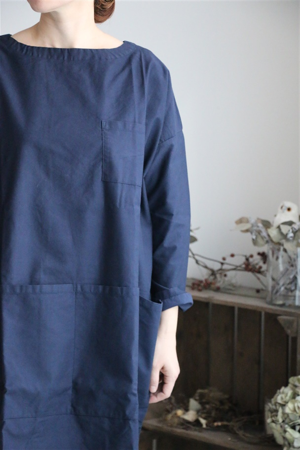 Np-OP06 NAPRON APRON SMOCK ONE PIECE 2色