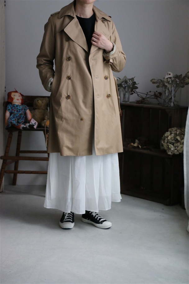82100 FABRIQUE en planete terre trench coat