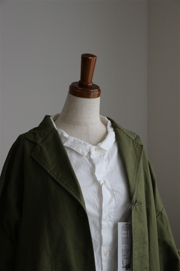 NPJK06 NAPRON WIDE WORK coat