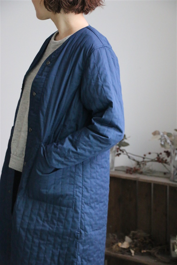 NP-jk07 NAPRON QUILTING WORK COAT 2色