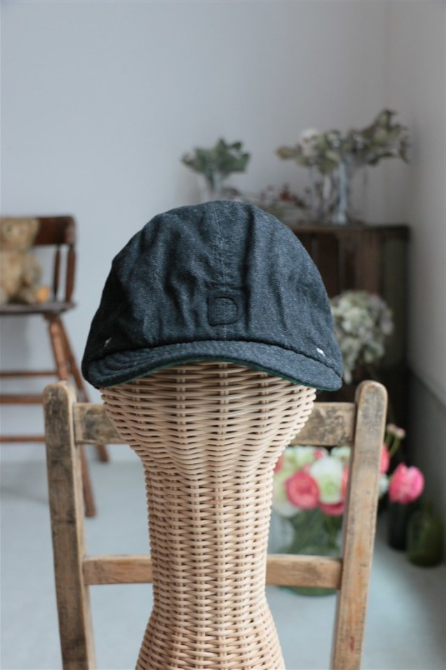 2-1Sd18 DECHO BALL CAP DENIM 3色