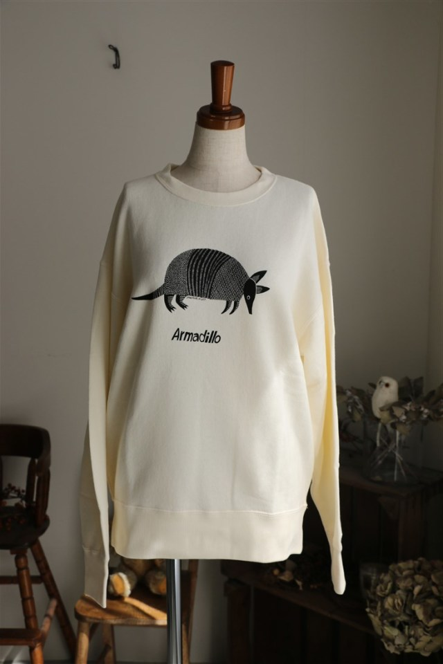 018F003017 marble SUD Armadillo SWEAT L/S