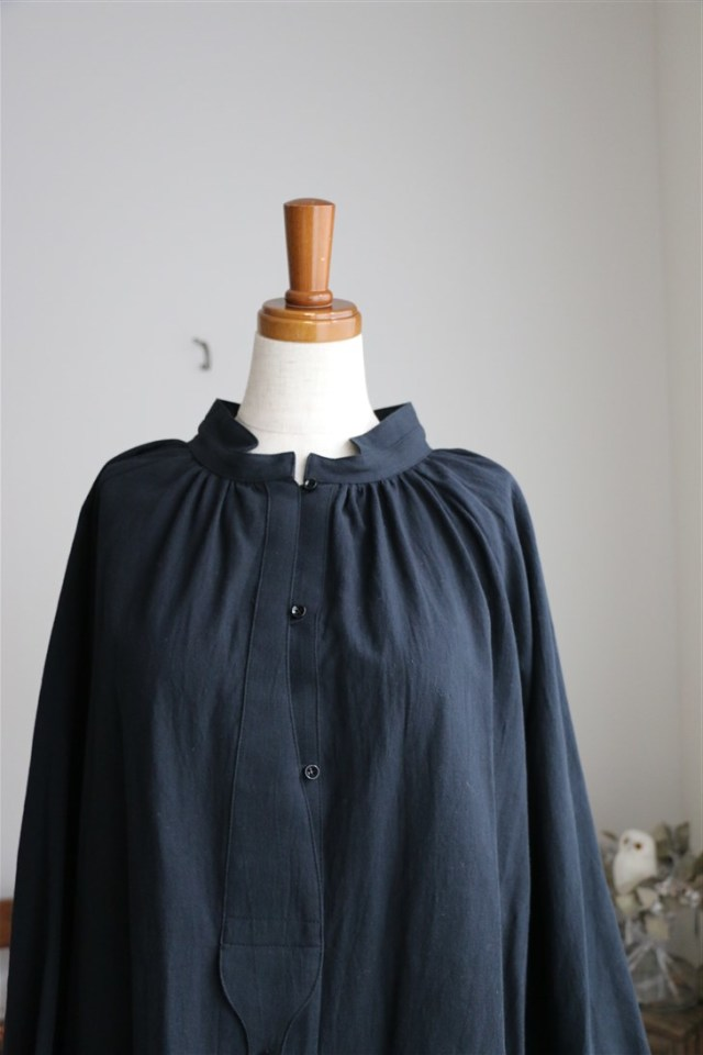 18-AW006C si si si COTTON TRIPLE WASH  SHIRT 2色