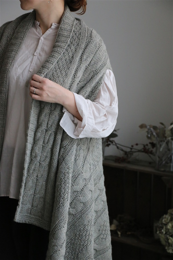 NNG1753 NEW GRIFFE CAPE CARDIGAN