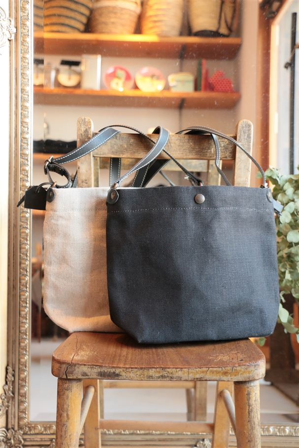BJ5060NLIN TAMPICO SHOULDER BAG LINEN 2色