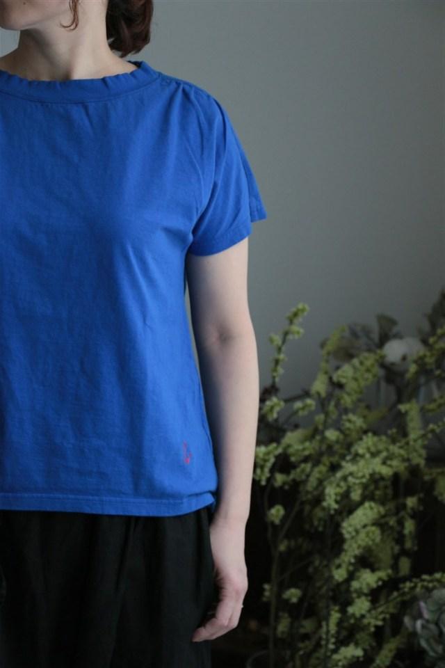 <SALE>81C-17 快晴堂 度詰め中長綿ブラジルコットンギャザーシャツ2色