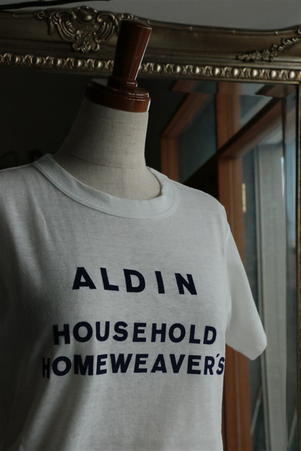 CT-04 ALDIN HOUSEHOLD half sleeve TEE 2色