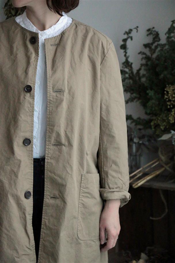 NAM1901CP ARMEN authentic collar work coat