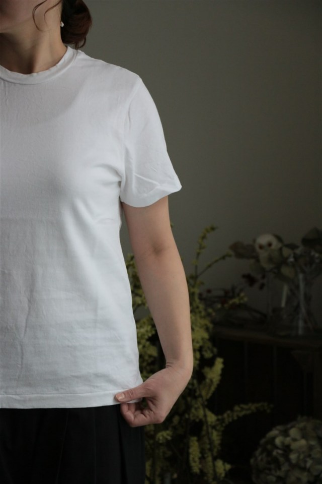 <SALE>12137081 vlas blomme &Twelve Linen 半袖シャツ