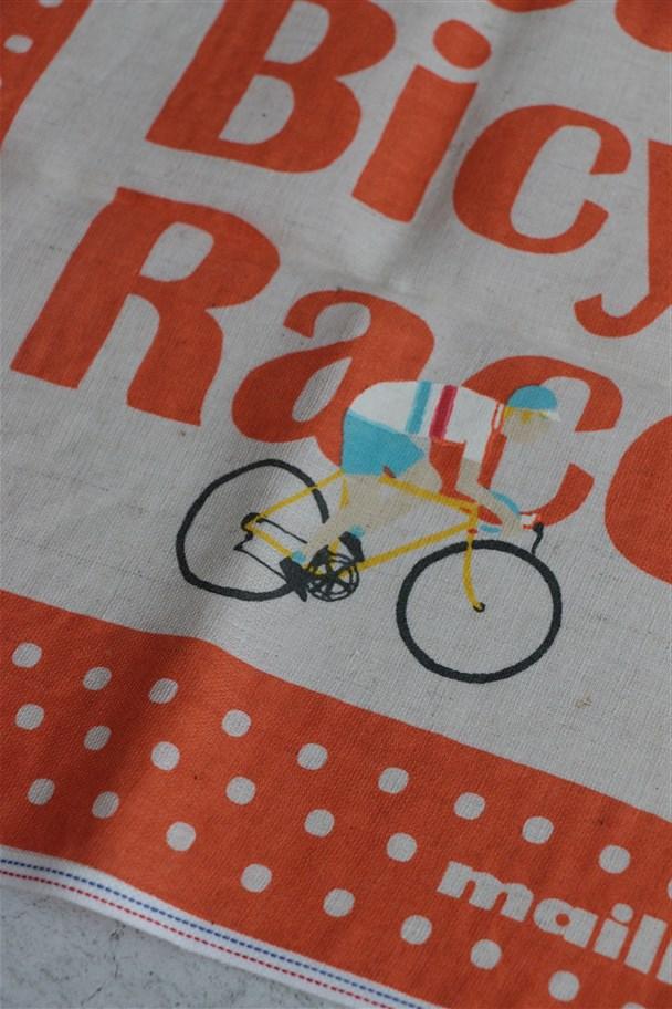 <SALE>51Z-58 快晴堂 Retro Bicycle バンダナ 3色