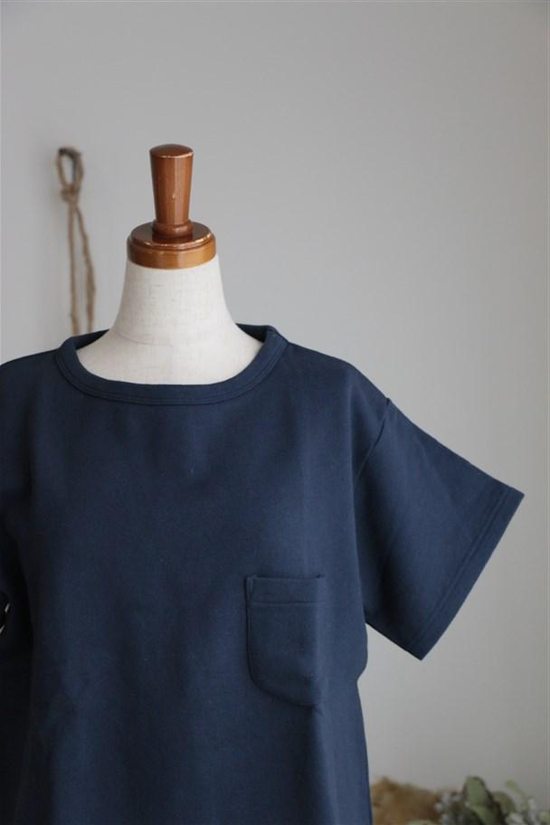 g027 Gauze(g) 度詰め裏毛Tシャツ 2色