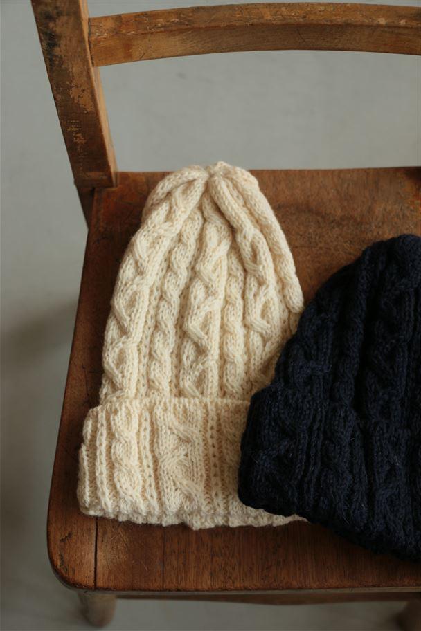 AW008  HIGHLAND2000 Wool Bob cap2色