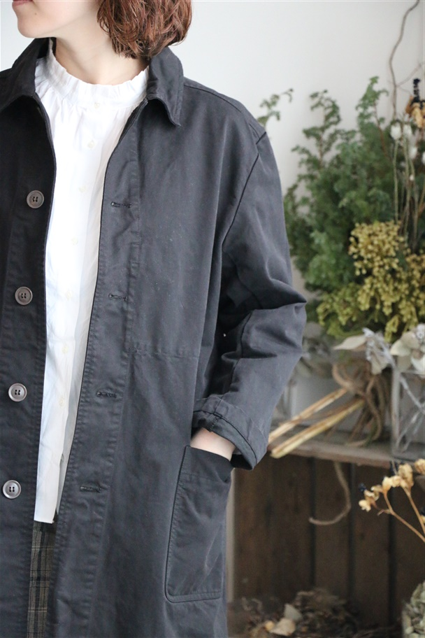 NAM1601ct ARMEN authen teck work coat 2色
