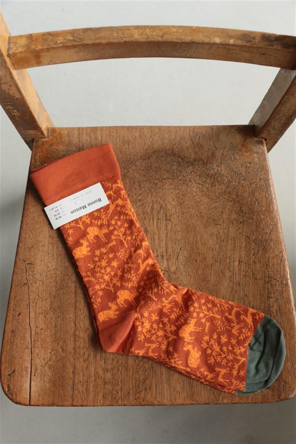 11415136 Bonne Maison socks LE BAISER 2色