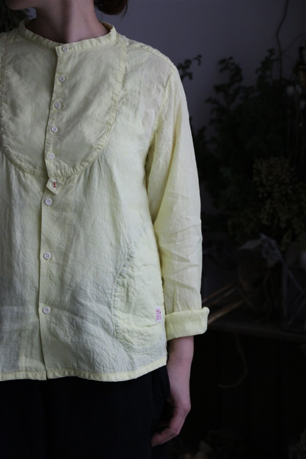 <SALE>91S-42 快晴堂 海上がりシャンブレーパジャマシャツ 3色