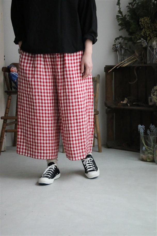 INSL19116 soil easy pants 2色