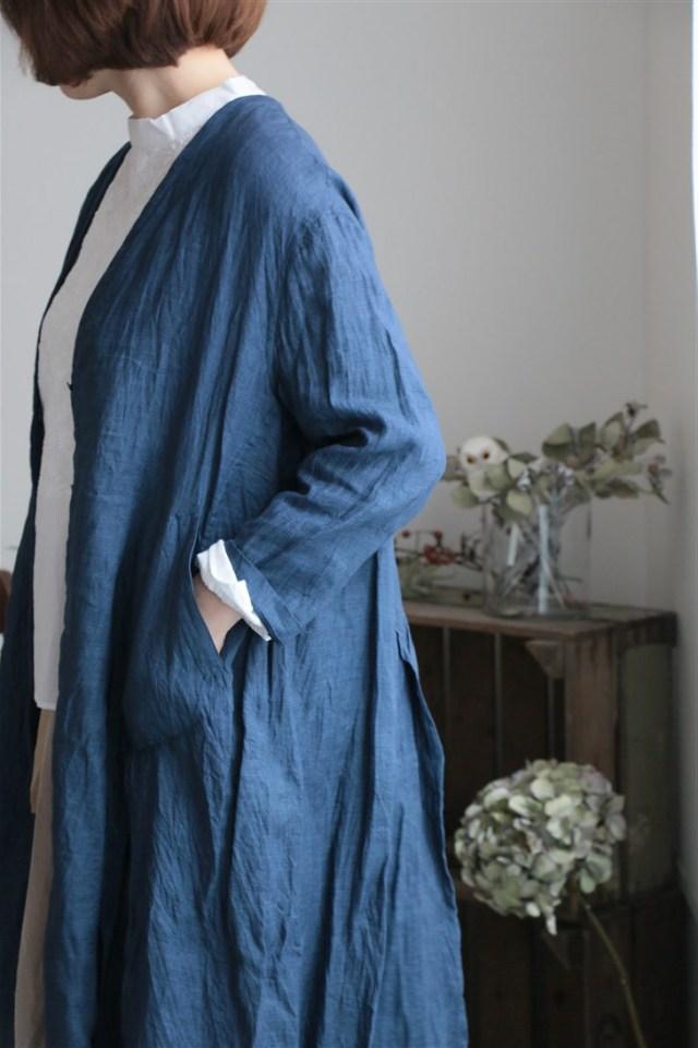180201uro ロングカーデジャケット 2色