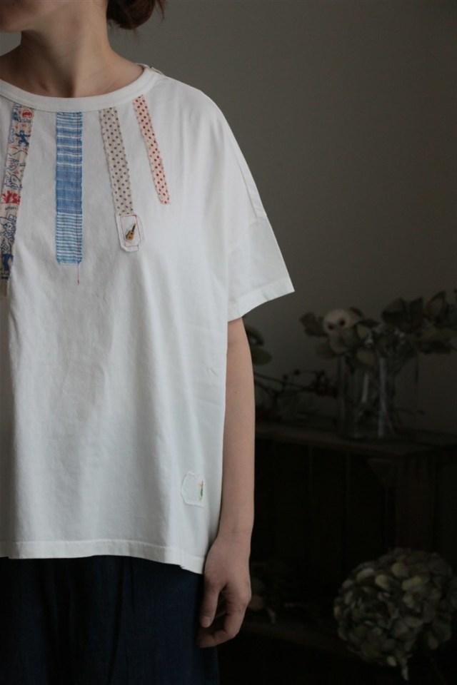 82C-55  快晴堂 クラフトTシャツ Girl's BIG T