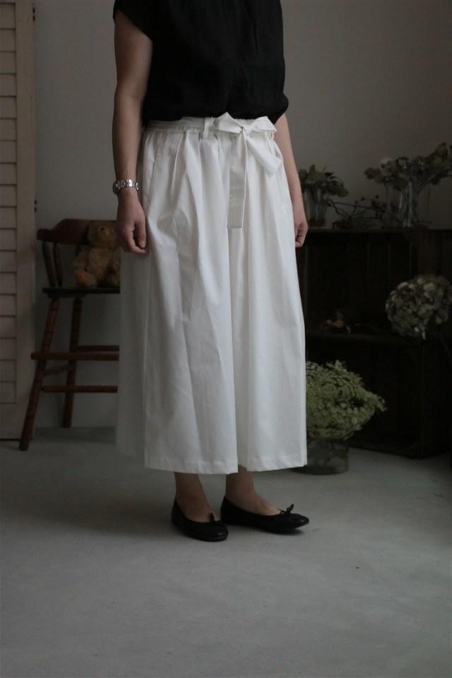 <SALE>17AW011T si si si コットンツイルスカート 2色
