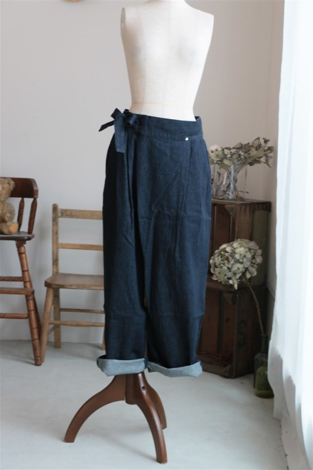 18SS018 si si si DENIM PANTS
