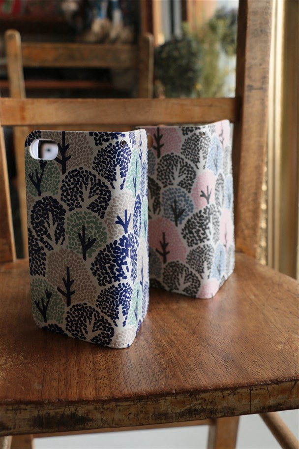 097S049166 marble SUD i phone CASE NB-type COLORFUL TREE 2色