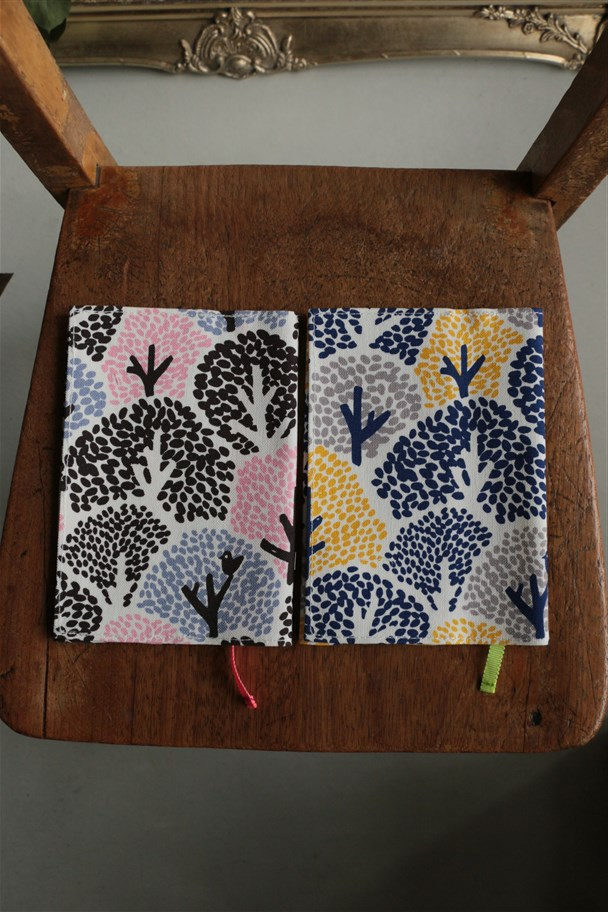 097S005152 marble SUD ハンプCOLORFUL TREE BOOK COVER 2色