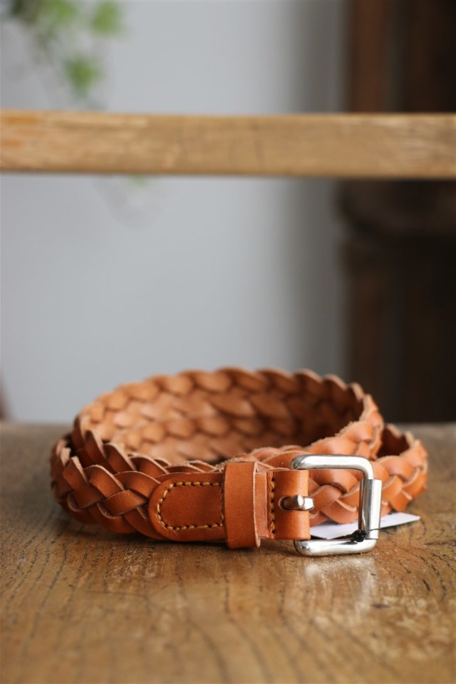 SS111 Anglo 4play Braided Belt CAMELLO
