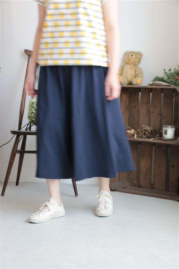 SD54ESC52 STAMP AND DIARY Wide Pants NVY