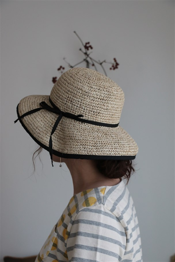 S61064-N Vincent Pradier Rafia Hat