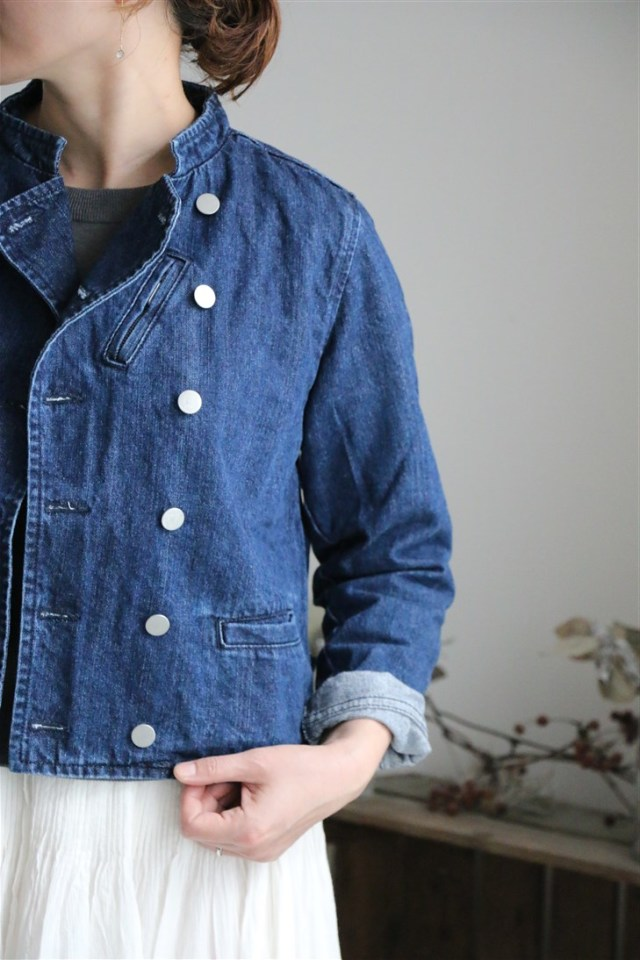 <SALE>N601 si si si DENIM RIDERS JACKET 2色
