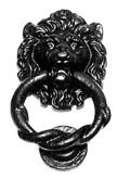 #4896 ライオンドアノッカー