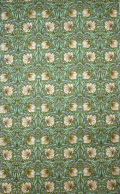 William Morris ウィリアム・モリス ティータオル Pimpernel Green LBTT11  100%コットン