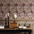 William Morris ウィリアム・モリス 輸入壁紙 Wall Paper Morris Volume1 Chrysanthemum クリサンティマム(全2色)