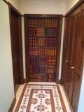本棚ドア用フェイクブック 771mm〜820mm アンティーク調 ダミーブック 洋書背表紙