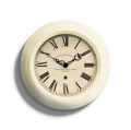 Small Gallery Clock Cream