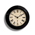 Small Gallery Clock Black
