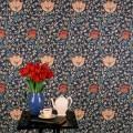 William Morris ウィリアム・モリス 輸入壁紙 Wall Paper Morris  Archive Wallpaper  Garden Tulip ガーデン・チューリップ(全4色)