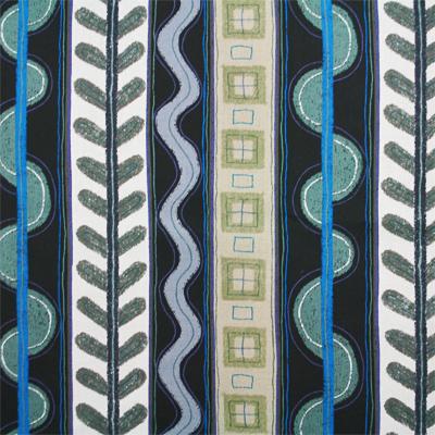 """【郷家啓子先生デザインプリント】""""Tropical Stripes""""50x110cm (JGK-008H) カラーバリエーション"""