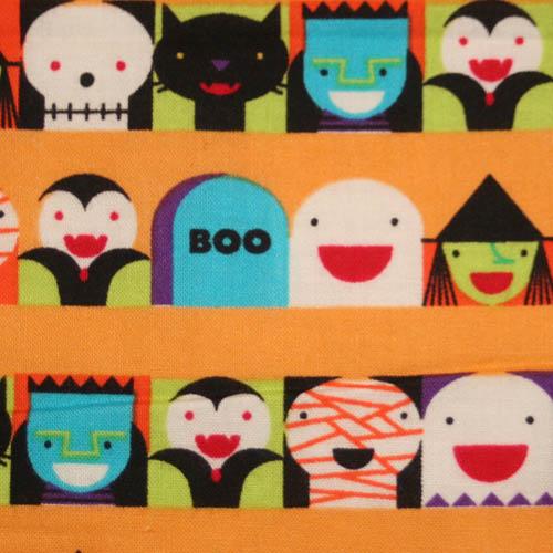 【国産】Halloween柄 50x55cm (JHW-001)