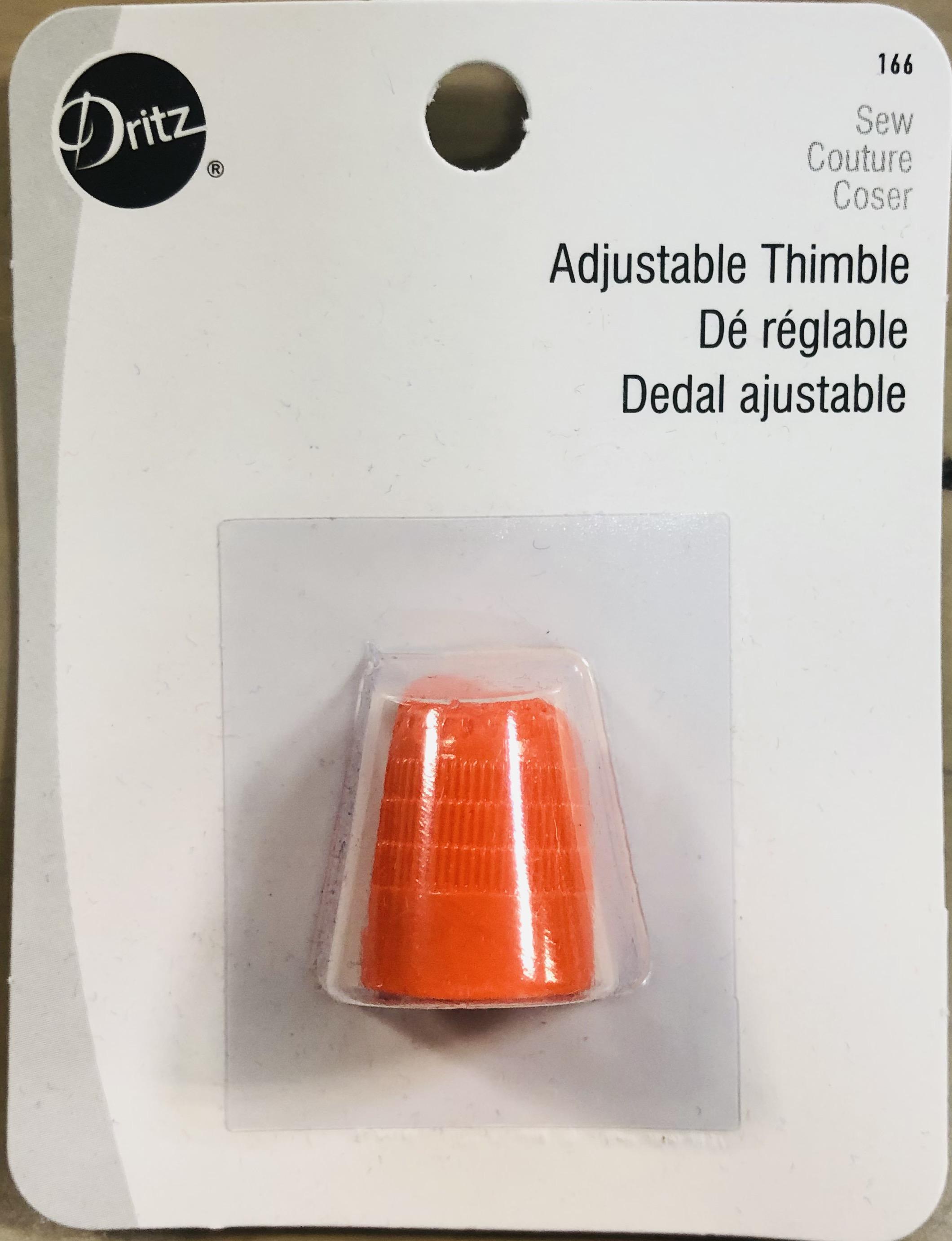 Adjustable Thimble「アジャスタブル シンブル」-オレンジ(NOT-007)