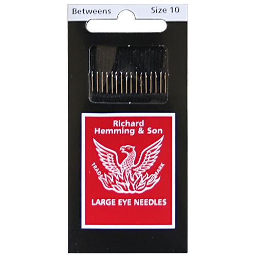 【Richard Hemming & Son】Large Eye Needles - キルティング針 (NOT-173)
