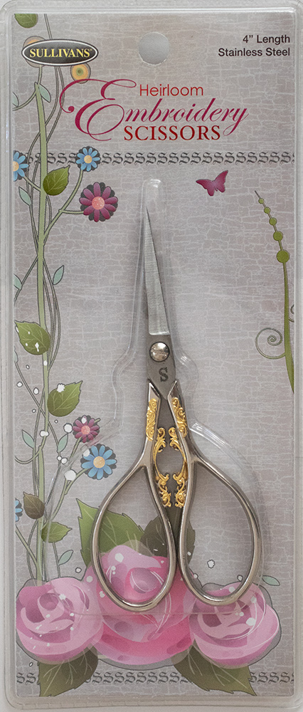 Heirloom Embroidery Scissors(糸切りはさみ)4インンチ (NOT-195)