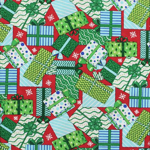 【クリスマス柄】50x55cm (UCH-063)