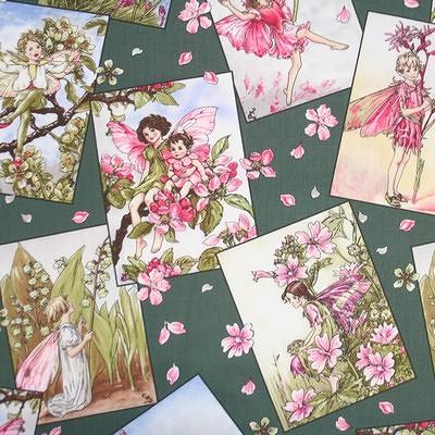 【Flower Fairies】フラワーフェアリー 50x55cm (UFF-004)