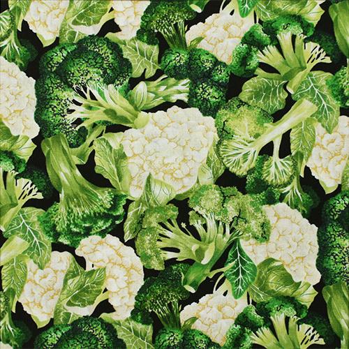 【Foods & Kitchen柄】50x110cm (UFK-186H)