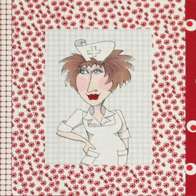 【Loralie Designs】- Nifty Nurses Panel - 60x110cm (ULH-005)