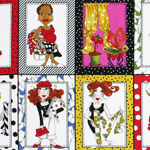 【Loralie Designs】- Sew Fabulous Panel - 60x110cm (ULH-072)