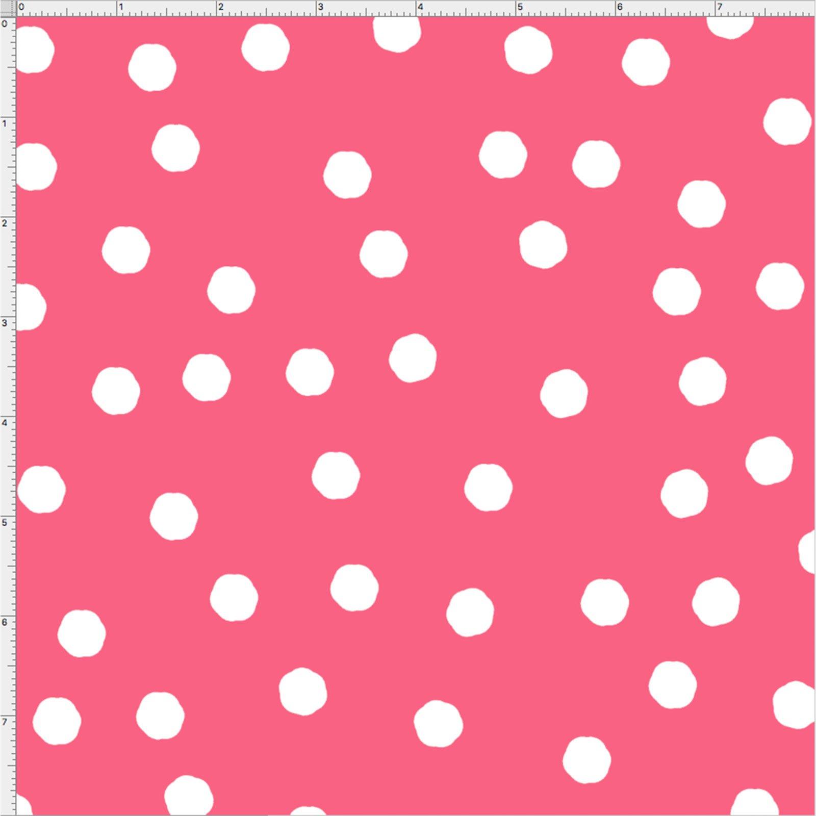 【Loralie Designs】-Jumbo Dots -  (ULH-127) ピンク