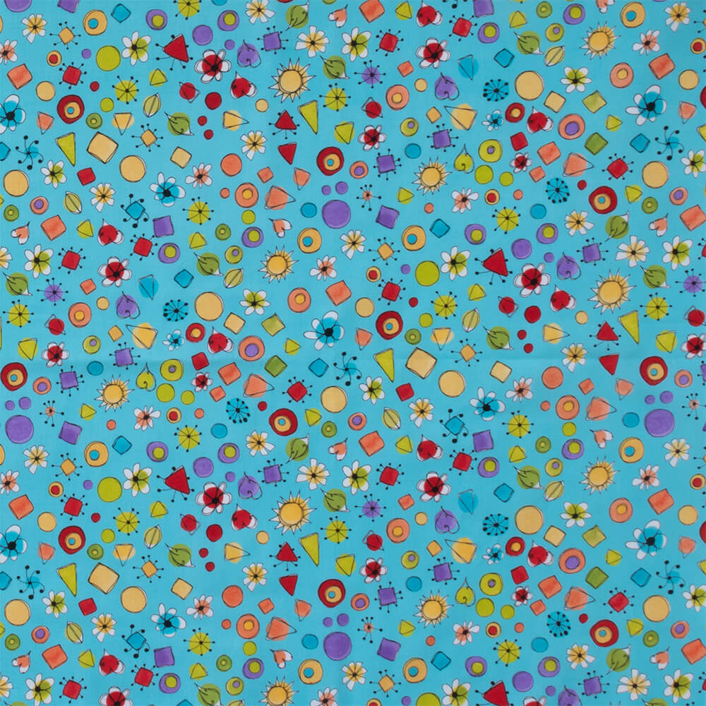 【Loralie Designs】 - Joy Dots Turquoise/White Fabric- (ULH-144)カラーバリエーション